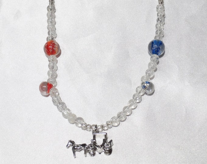 Your Carriage Awaits Necklace
