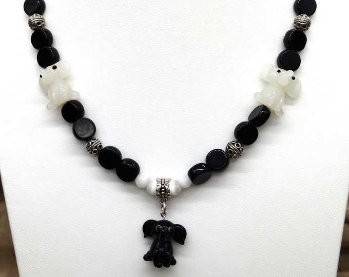 Elephants! Necklace