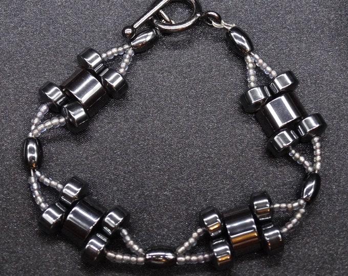Hematite X Bracelet