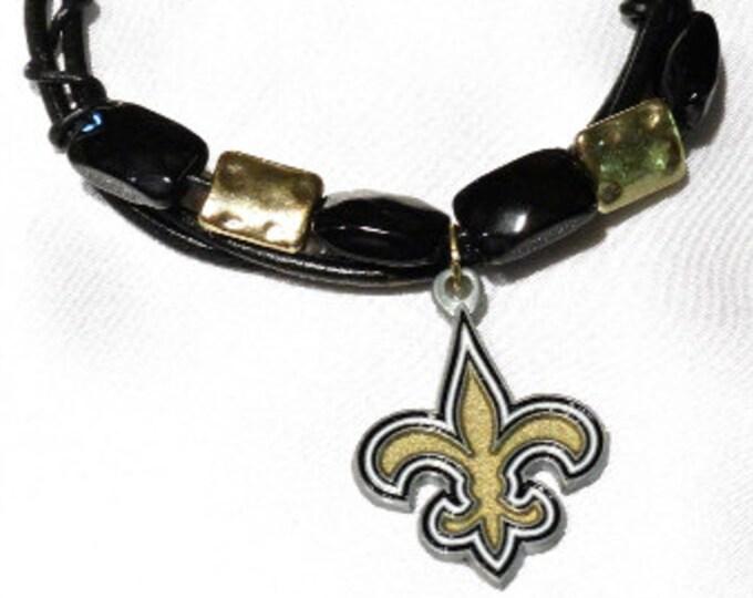 New Orleans Saints Bracelet - A Saints Love