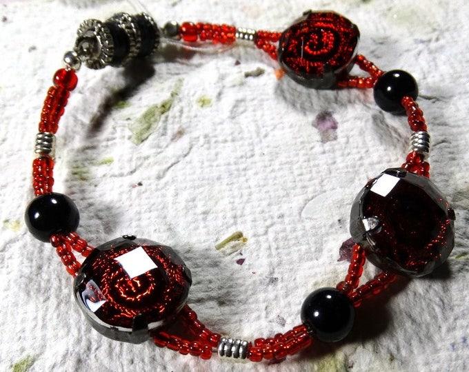 Rose Fire Bracelet