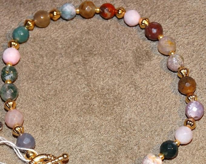 Blended Agate Bracelet
