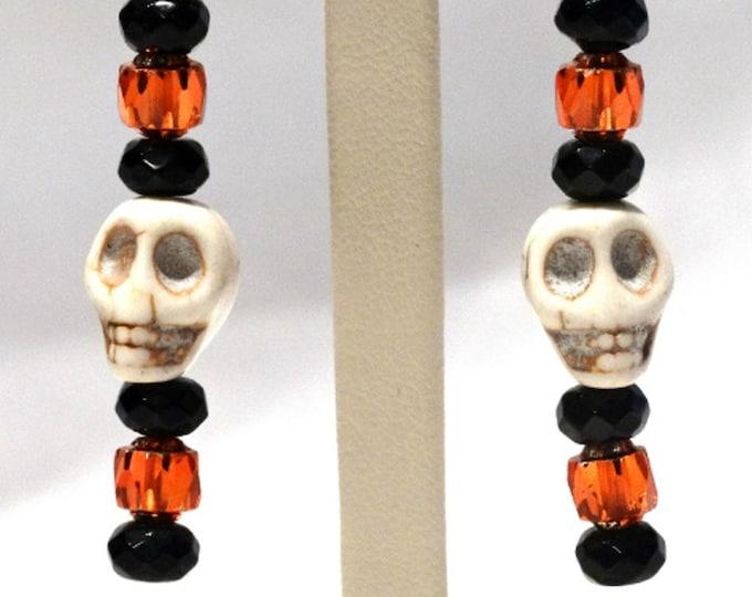 Skull Dangle Earrings