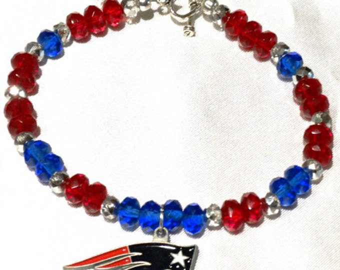 New England Patriots Bracelet