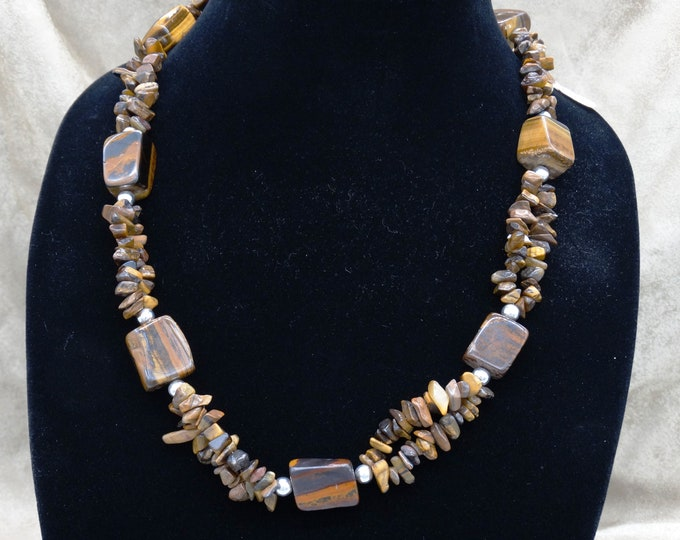 A Tiger's Eye Necklace