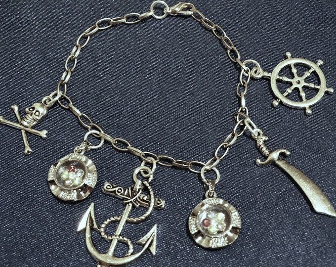 Pirates Treasure Charm Bracelet