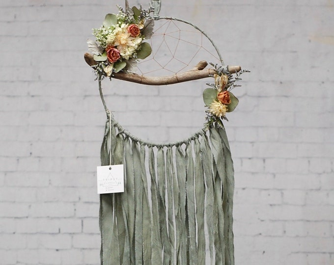 Featured listing image: Sage Driftwood Dream Catcher