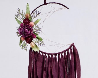 Moon Dream Catcher | Plum