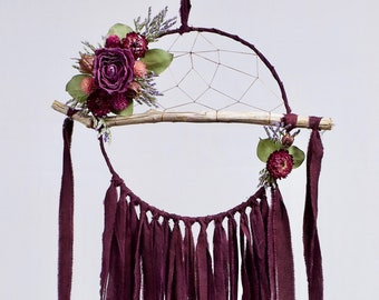 Driftwood Dream Catcher | Plum