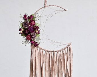 Moon Dream Catcher | Blush Pink