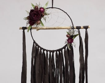 Driftwood Dream Catcher | Charcoal