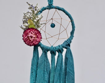 Mini Dream Catcher | Deep Teal