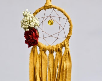 Mini Dream Catcher | Mustard
