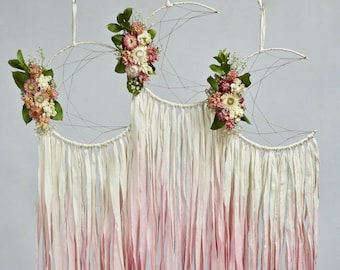 Moon Dream Catcher | Pink Ombre