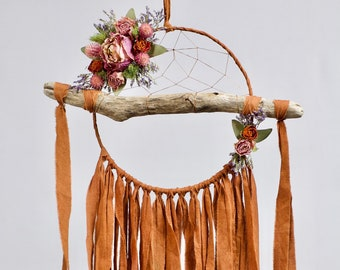 Driftwood Dream Catcher | Rust