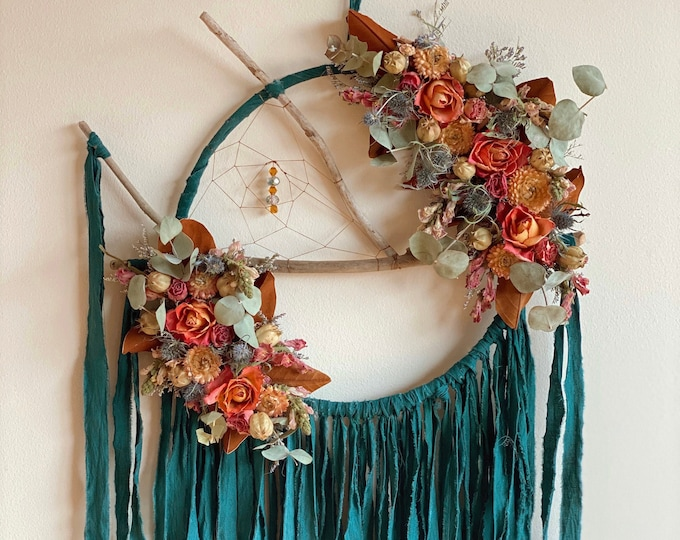 Featured listing image: XL Teal Dream Catcher
