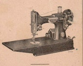 PDF Singer 221-1 1941 Featherweight Sewing Machine Instruction Manual Instant Download Downloadable Printable Digital Instructions