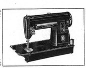 PDF Singer 301 Manual 1953 Sewing Machine Instant Digital Printable Download Downloadable Vintage Instruction Manual
