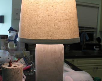 Concrete classic/modern concrete table lamp