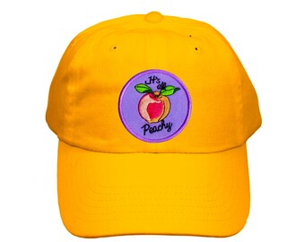 8498b787ead Cute Embroidered Peachy Hat