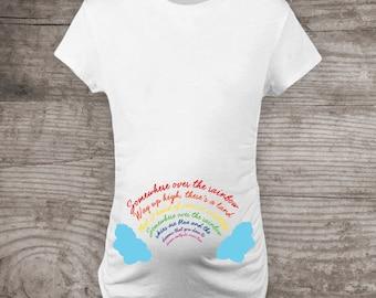 Rainbow Baby Maternity Shirt Etsy