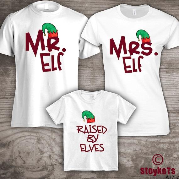 1e30618a98b9f Personalized Christmas family t-shirts