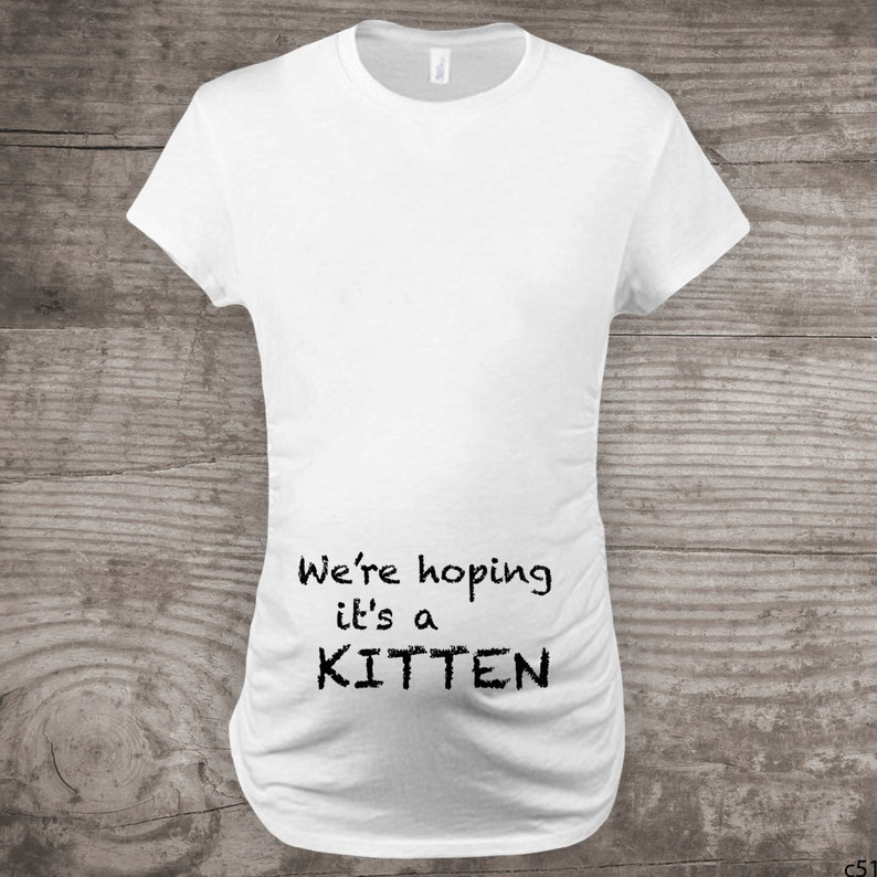 02e0fdc5e Maternity shirt for cat lovers funny novelty message tees | Etsy