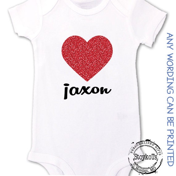 Valentines Day Shirts For Babies Kids Matching Family Personalized