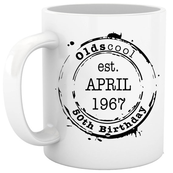 50th Birthday Milestone Personalized Coffee Cups Gift Ideas Funny Oldscool Over The Hill Gifts One Of A Kind By Stoykots Catch My Party
