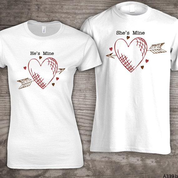 Personalized Valentines Day Family T Shirts He S Etsy