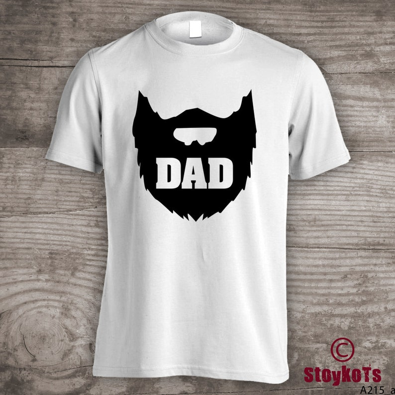 de7a2d50ae Beard t-shirt fathers day gifts shirt Personalized mens Daddy | Etsy