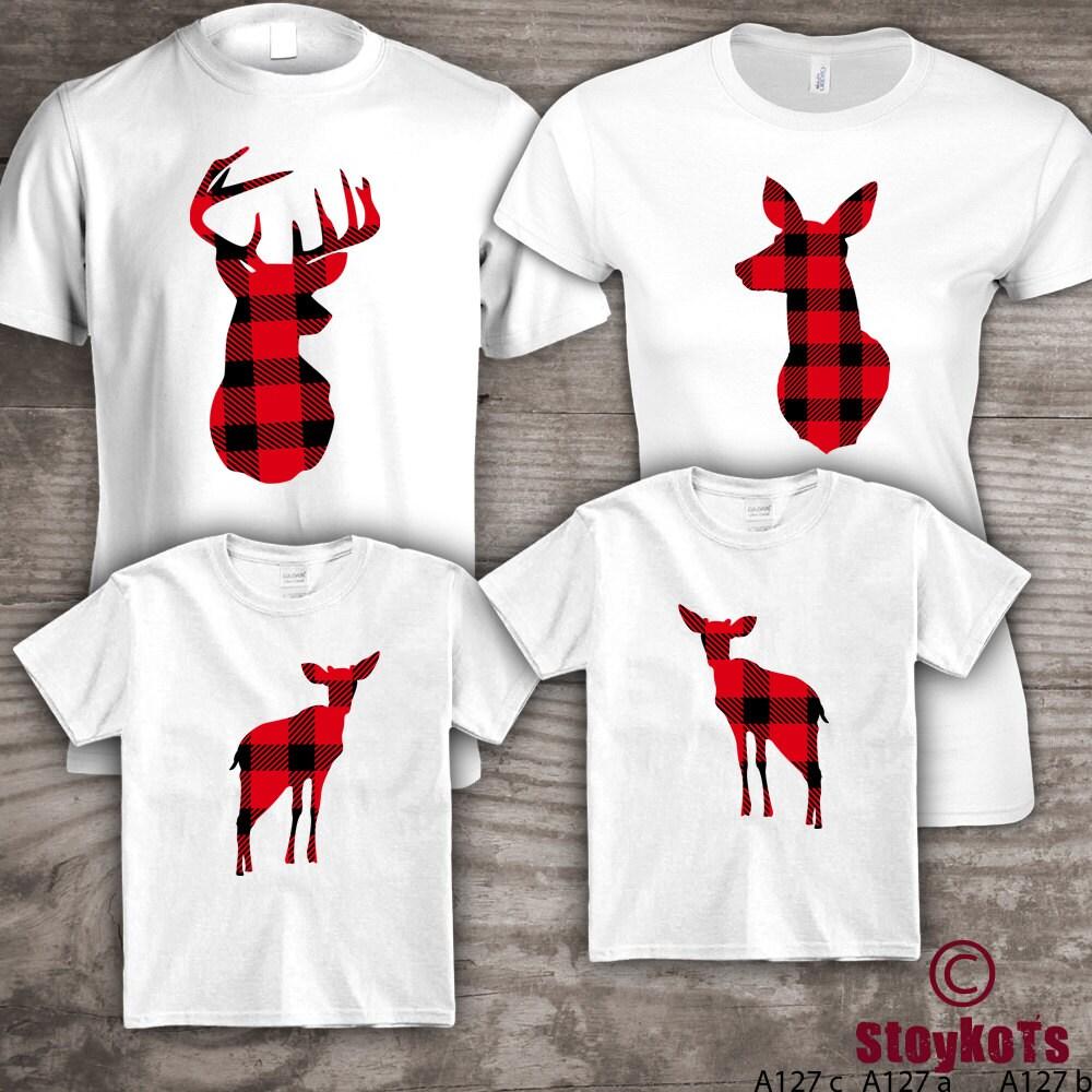 Weihnachten-Hemden die passende personalisierte Familie set | Etsy