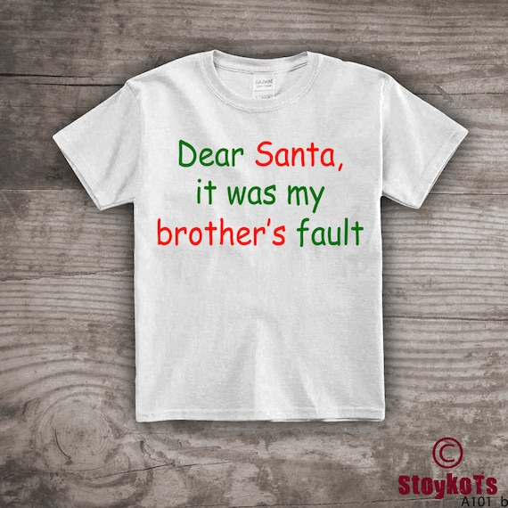 b8367875c Personalized Christmas t-shirt funny Message