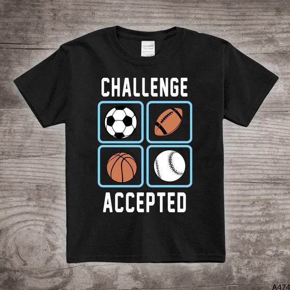 Sports balls shirt sports shirt baseball football basketball personalized sports gifts sports shirt boys personalized truck shirts