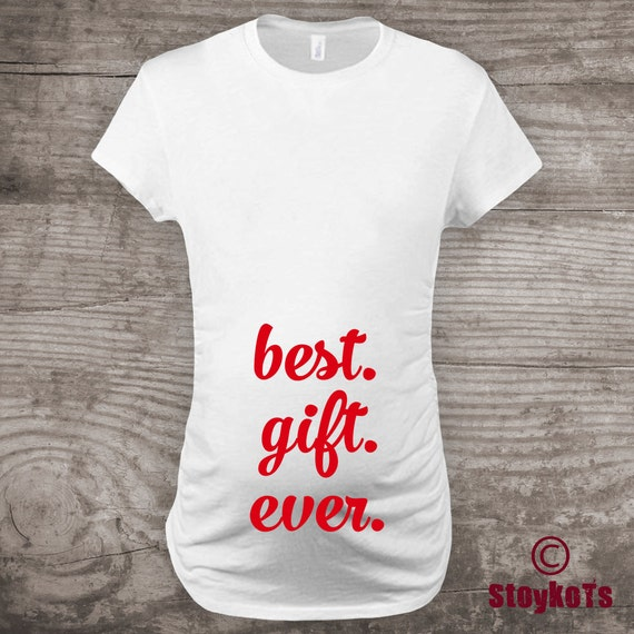 61f0c8f19d0d6 Christmas pregnancy announcement shirt Maternity t-shirt, new baby