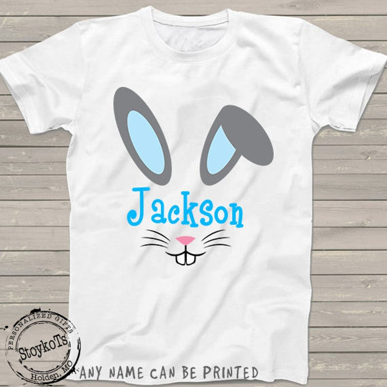 597969d8f Easter shirts for kids funny bunny rabbit ears face for
