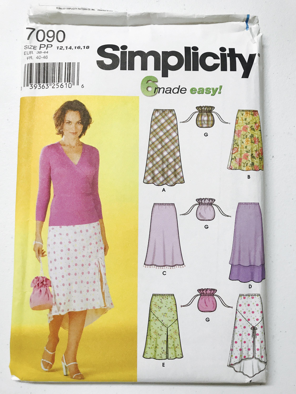 Simplicity Skirt Patterns Unique Design Ideas