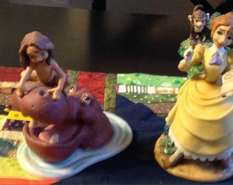 Figurine plastique Tarzan Tarzan et Cheetah