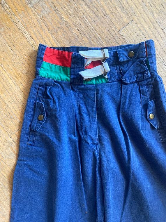 Women's vintage pants / XS / Extra Small / High wa