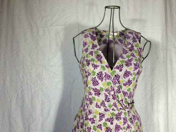 Vintage Dress / DVF Wrap Dress / Size 4 / Dress /