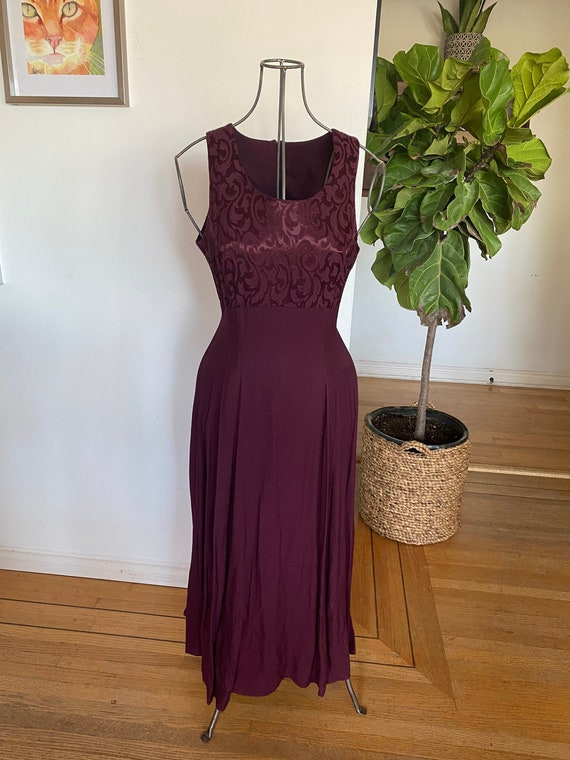 Vintage Women's dress / Red Dress / Vintage women'
