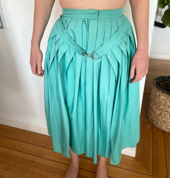 Women's Vintage Culottes / Extra small / Aqua / Wo