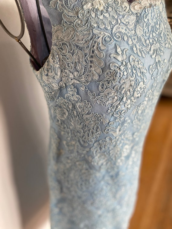 Vintage women's dress / Lace Dress / Vintage lace
