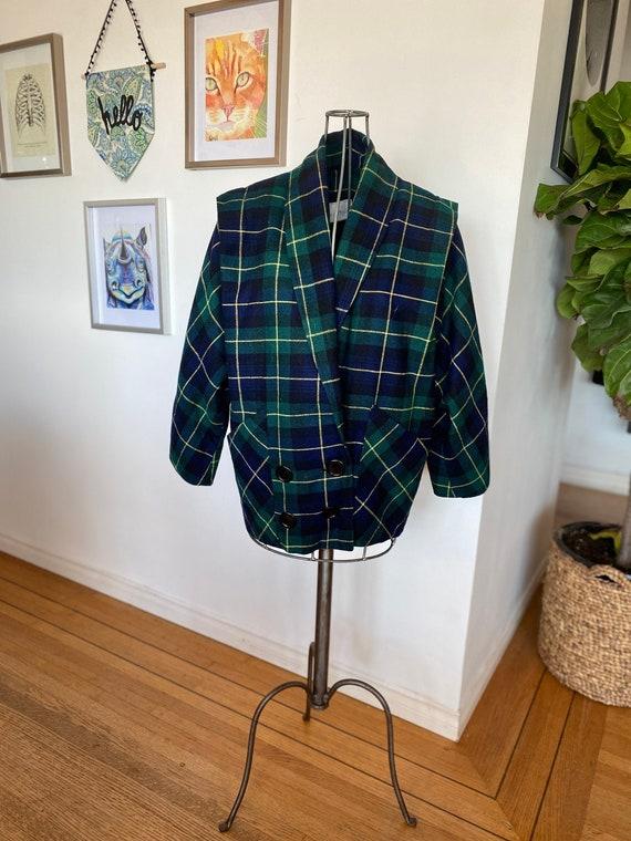 Vintage Women's Blazer / 90s Le Chateau blazer / D