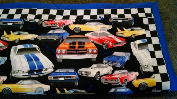 Muscle Car Quilt Etsy