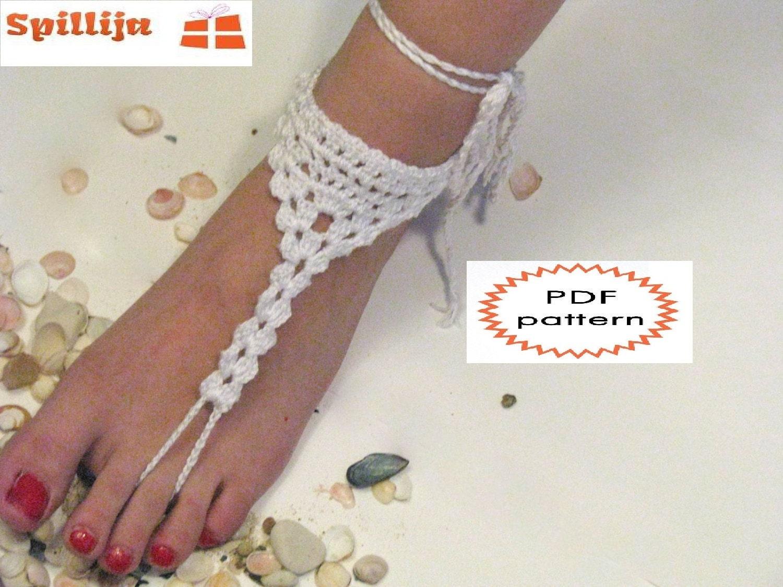 Pattern Crochet White Legs Accessory Crochet Barefoot Etsy