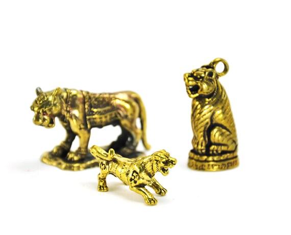 Erotic Woman Statue Love Thai Amulet Tiger Brass Lucky Charm Powerful Talisman