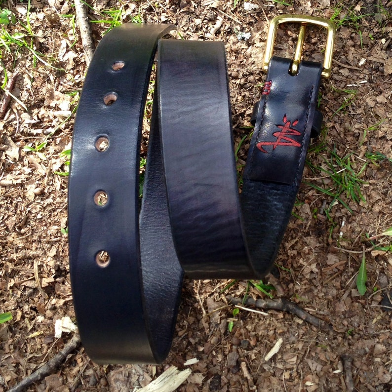 Heavy Duty Leather Belt image 0