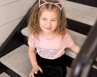 Love/Bible Verse Kid or Toddler Shirt