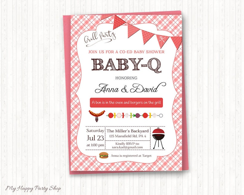 printable baby shower invite thank you card and save the.html